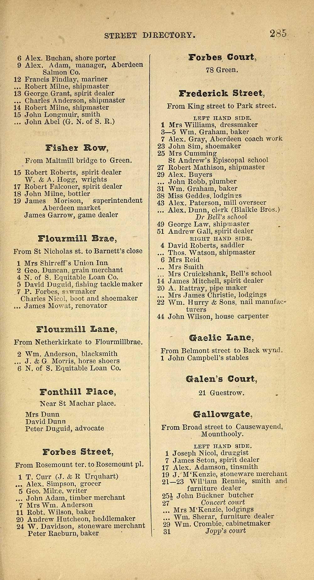 289) - Towns > Aberdeen > 1858-1912 - Post Office Aberdeen