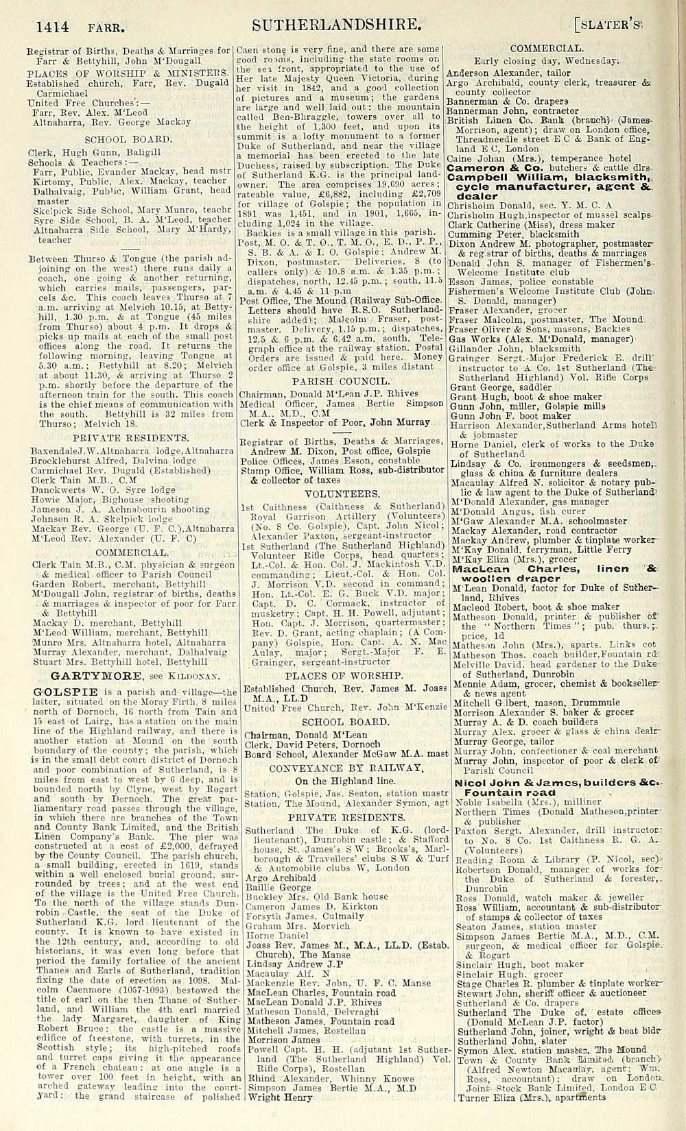 1478) - Scotland > 1882-1915 - Slater's Royal National