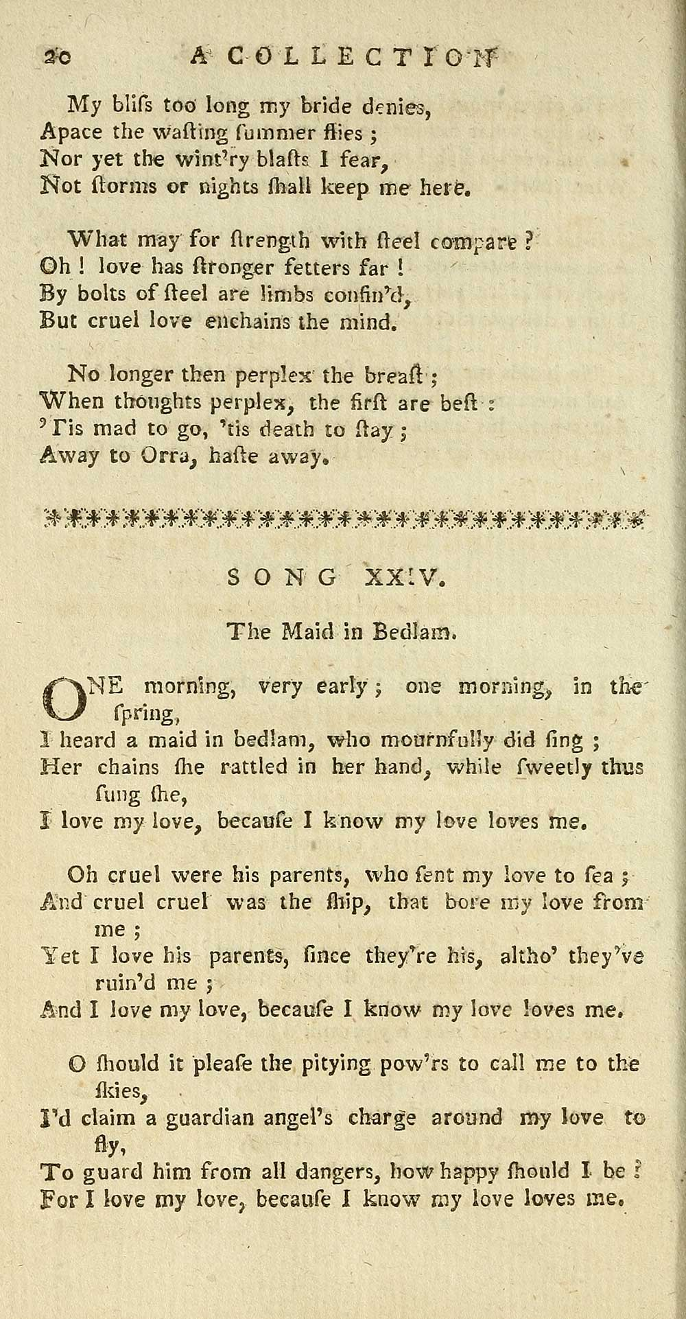 42) Page 20 - Maid in Bedlam - Glen Collection of printed music