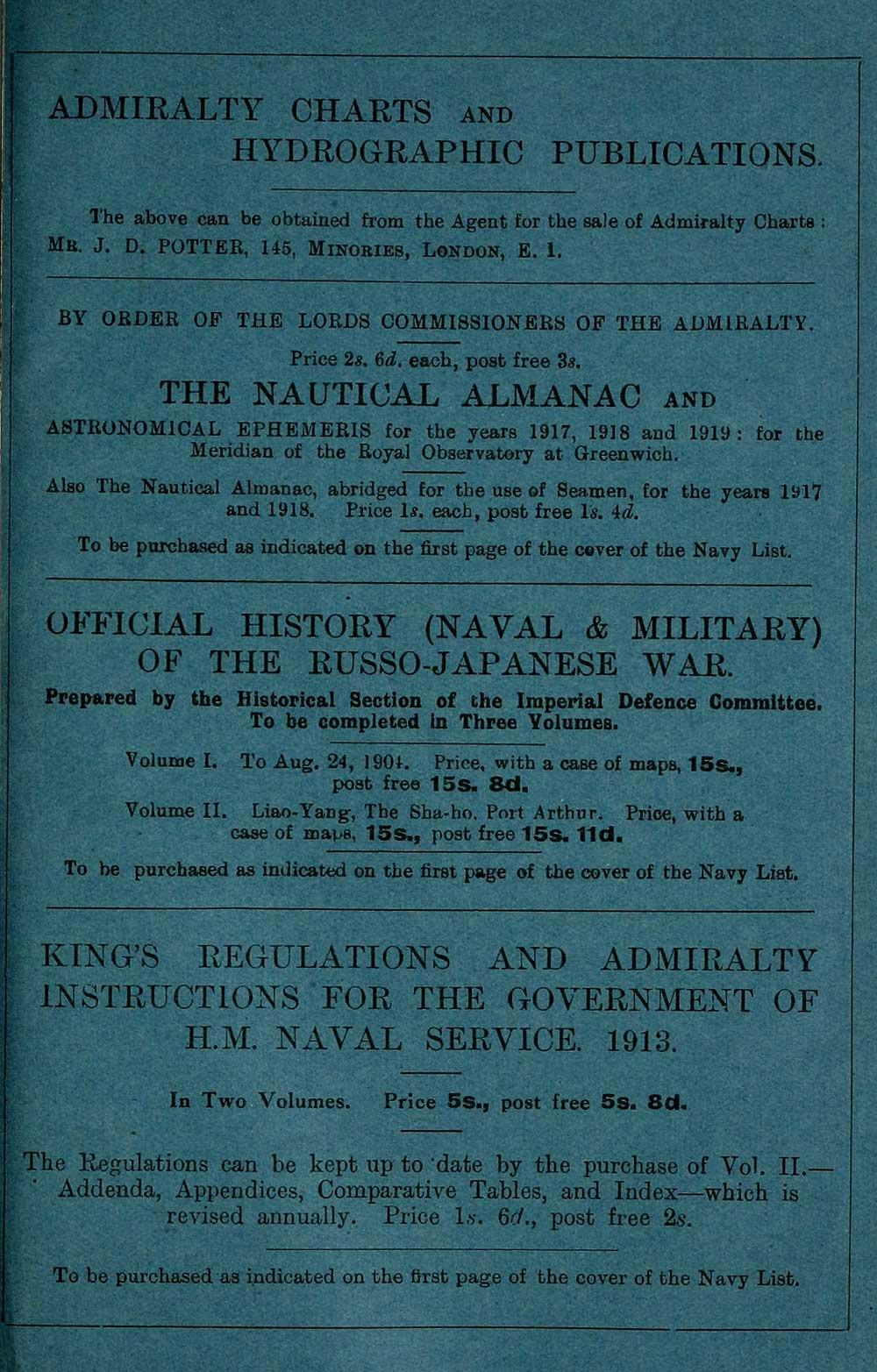 2087) - Navy lists > Quarterly > 1918 > July - British