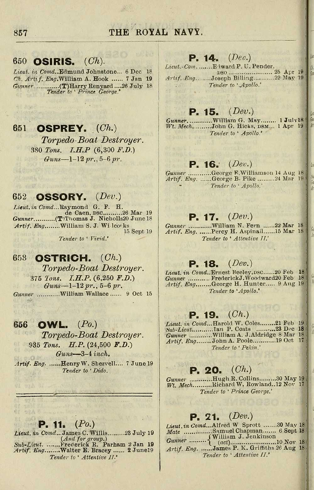 f7b5a7e64f 720) - Navy lists   Quarterly   1919   October - British Military ...