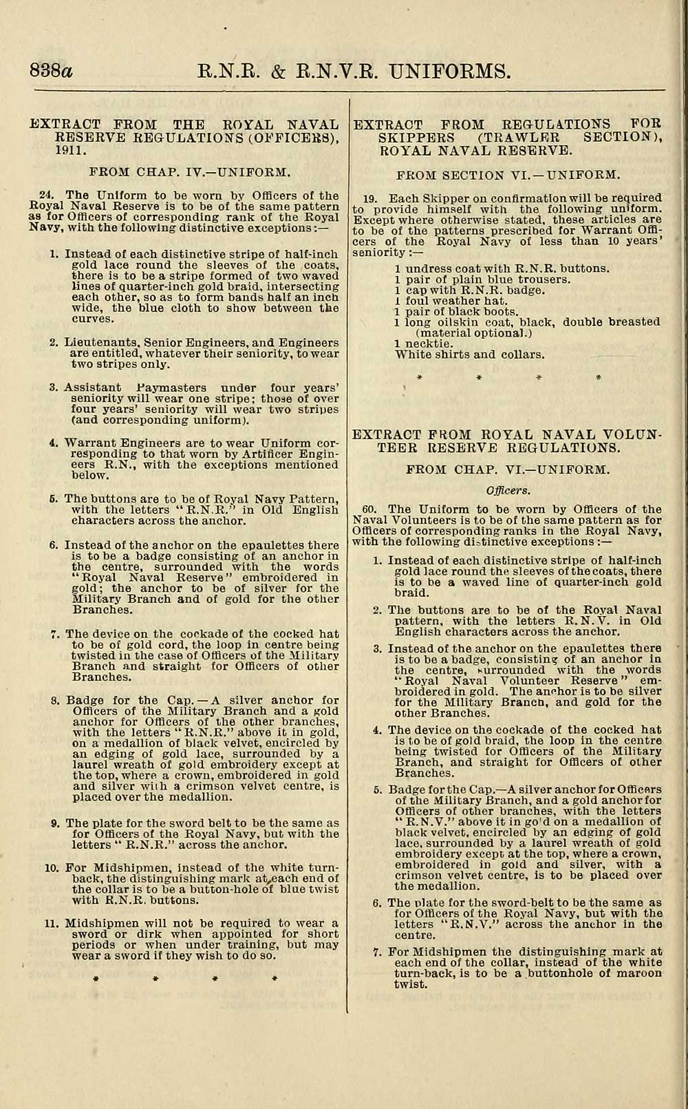 952) - Navy lists > Quarterly > 1913 > July - British Military lists