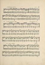 Page 21Auchindoun Castle reel -- James Lumsden Esq..'s strathspey -- Isla side lasses reel