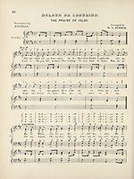 Page 22 Moladh na landaidh (The praise of Islay)