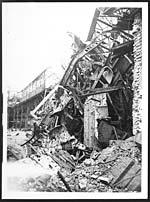 D.2838Effect of shellfire on a mine