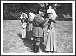 D.2855Presentation of the Military Medal by General Plumer to nurses for their courageous conduct when their hospital was bombed by German airmen