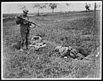 X.25026One of the enemy who was killed by Canadian Cavalry a few minutes before-hand