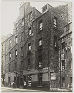 Four Storey Tenement with R. Tulloch Fruit and Potato Merchant on the Ground Floor