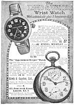 Page vLand & water wrist watch