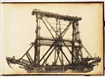 Inchgarvie superstructure at full height