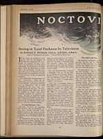 Noctovision : seeing in total darkness by television - Page 40