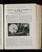 Account of some experiments in television - Page 153