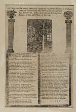 Blaikie.SNPG.1.4Elegy on the much lamented death of His Royal Highness William, Duke of Cumberland, who died suddenly on Thursday, October 31, 1765, at his house in Grosvenor-Square, in the 46th year of his age.