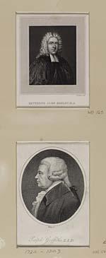 Blaikie.SNPG.3.19Reverend John (Orator) HENLEY (1692- 1756) and Ralph Griffiths LLD (1720- 1803)