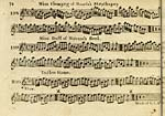 Page 74Miss Flemyng of Moness's strathspey