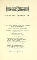 [Page 1]Pick-tooth for the pope; or The pack-mans pater noster